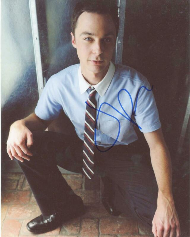 "Jim Parsons ""The Big Bang Theory"" AUTOGRAPH Signed 8x10 Photo ACOA"