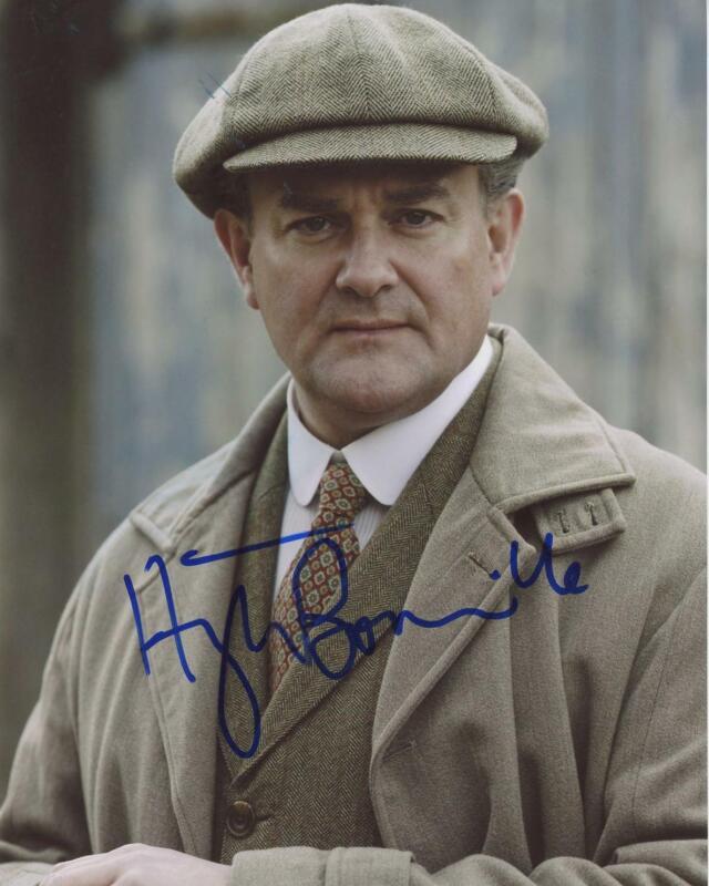 """Hugh Bonneville """"Downton Abbey"""" AUTOGRAPH Signed 8x10 Photo ACOA"""