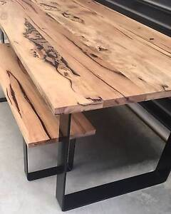 Fabulous Marri Dining Table with 2 Seating Benches - NEW! Hampton Bayside Area Preview