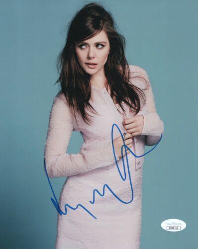 Elizabeth Olsen Avengers Autographed Signed 8x10 Photo JSA COA #7