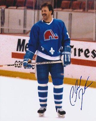 Claude Julien Quebec Nordiques Autographed Signed 8X10 Photograph W Coa