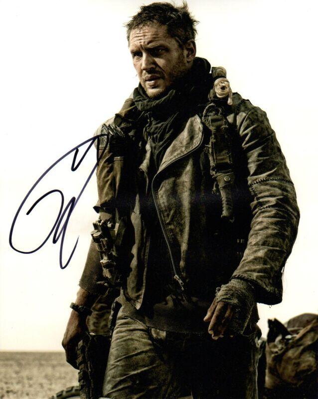 Tom Hardy Mad Max Autographed Signed 8x10 Photo COA