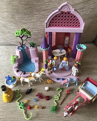 Playmobil 5756 + 4137 + 3033 Princess Fairy Waterfall Fountain & Garden Bundle