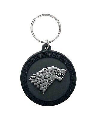 Game Of Thrones House Stark Flexible PVC key chain Keyring RKA68066