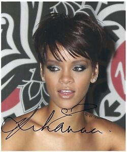 Rihanna SIGNED Photo 1st Generation PRINT Ltd, Numbered + Certificate /1