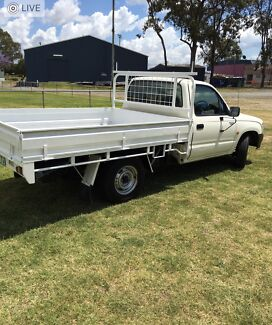 Man and Ute  and Trailer