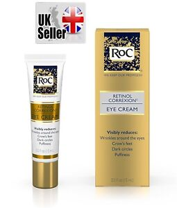 RoC Retinol Correxion Eye Cream,  for deep wrinkle,crow feet, dark circles 0.5Oz