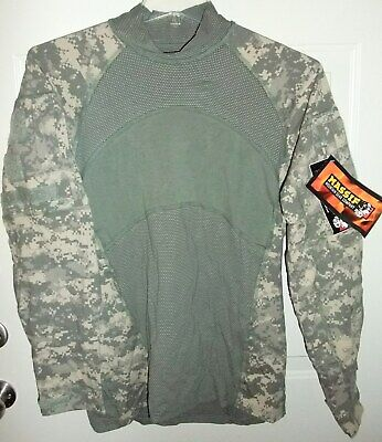 Massif ACU UCP Digital Camouflage Fire Resistant Army Combat Shirt Large NWT