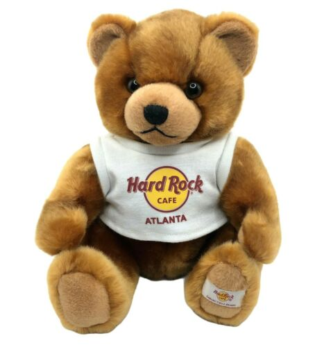 2006 Hard Rock Café Atlanta Herrington Teddy Bear Plush Stuffed Animal w/ Shirt