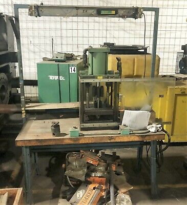 Shop Press Perfect For Garage Benchtop Hydraulic Press Pneumatic Air
