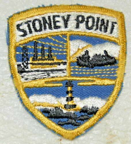STONEY POINT Swiss Cut Edge Shield Boy Scout Uniform Badge Canadian (QCS11AN1)
