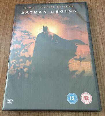 Batman Begins DVD (2005, 2-Disc Set) Katie Holmes Amazing Value At Low...