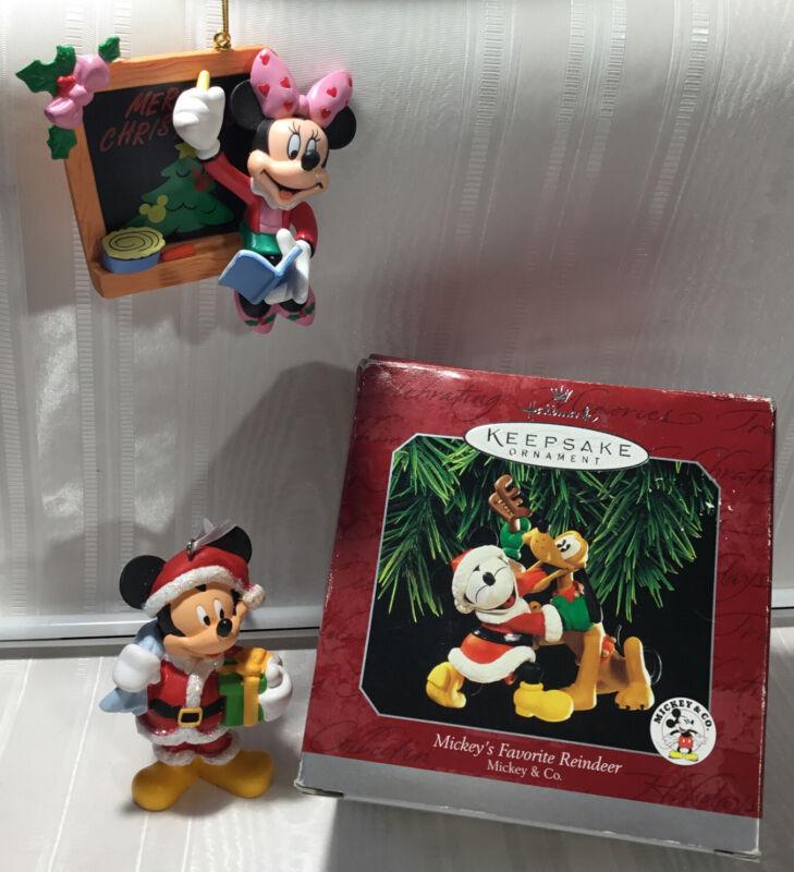 3 Hallmark Disney Mickey