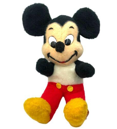 "Vintage Mickey Mouse Walt Disney Productions Plush 16"" California Stuffed Toys"