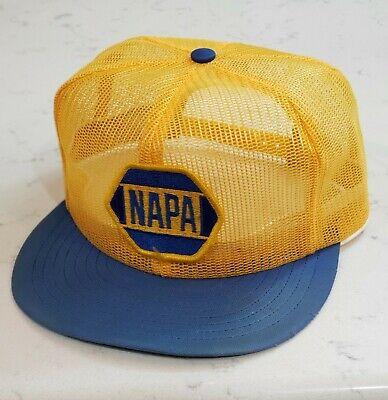 Vintage NAPA Snapback Trucker Hat Full Mesh Patch Cap Louisville Made in the USA, usado segunda mano  Embacar hacia Argentina