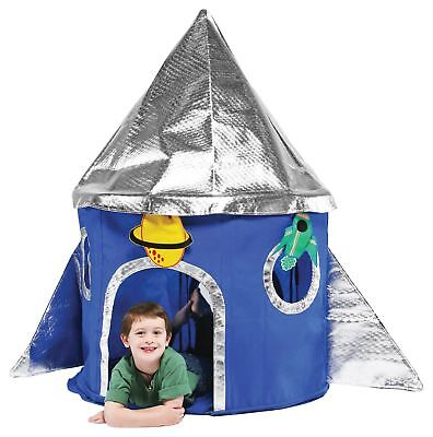 Bazoongi Special Edition Rocket Fabric Folding Play Tent 3+ Years