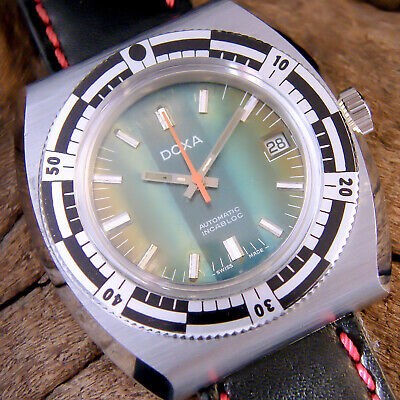 Men's vintage Swiss watch, DOXA SUB style, DIVERS automatic, GWO, collectable.