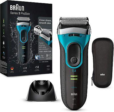 Braun Series 3 ProSkin 3080 s - Afeitadora eléctrica hombre, afeitadora barba