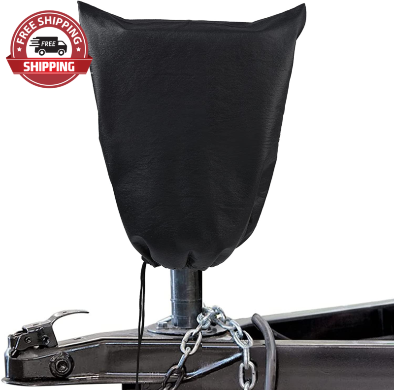 Waterproof Electric Tongue Jack Cover Universal RV Travel Trailer 15X17 Inches - $9.99