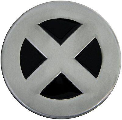 Silver/Black X-Men Wolverine Cyclops Storm Jean Novelty Metal Belt (Mens Silver Belt Buckles)