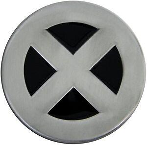 Silver/Black X-Men Wolverine Cyclops Storm Jean Novelty Metal Belt Buckle