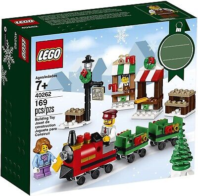 LEGO Christmas Train Ride 40262 2017 Holiday Seasonal Set - Brand New & Sealed