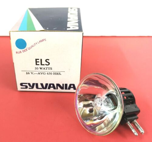 ELS ELR 50W 16V Photo Stage Projection LIGHT BULB Studio LAMP NOS NEW