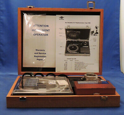 Bruel Kjaer Type 4185 Ear Simulator For Telephonometry.