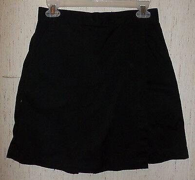 Twill-skort (NEW!   WOMENS L.L. Bean BLACK TWILL SKORT  SIZE 4)