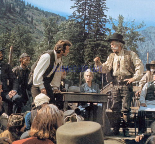 PAINT YOUR WAGON CLINT EASTWOOD LEE MARVIN JEAN SEBERG RARE PHOTO