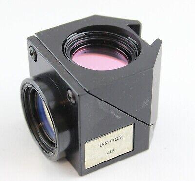 Olympus Fluorescence Cube Ax Ix Bx Microscope U-m 61002