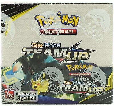 POKEMON TCG SUN & MOON TEAM UP BOOSTER SEALED BOX - ENGLISH