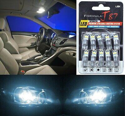 LED 3030 Light White 6000K 168 Ten Bulbs Front Side Marker Parking Upgrade OE