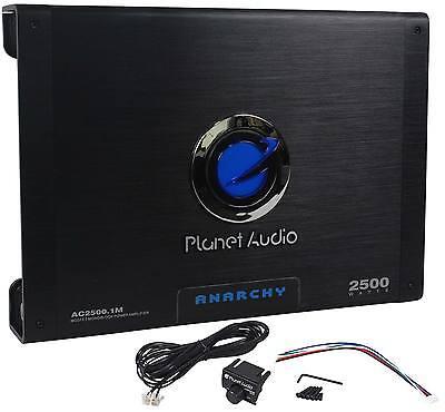 New Planet Audio AC2500.1M 2500w Class A/B Mono Amplifier 2 Ohm Stable Car Amp