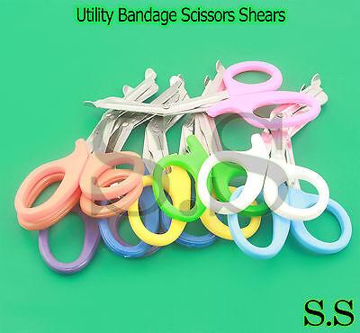 25 Emt Shears Scissors Bandage Paramedic Ems Supplies 7.25 W10 Different Color