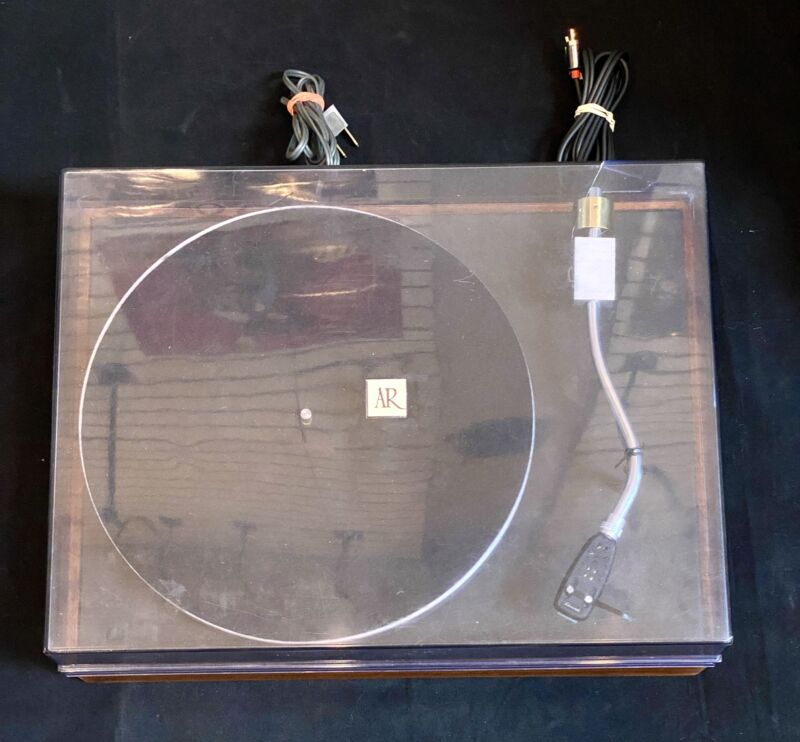 Restored and Upgraded Acoustic Research Turntable