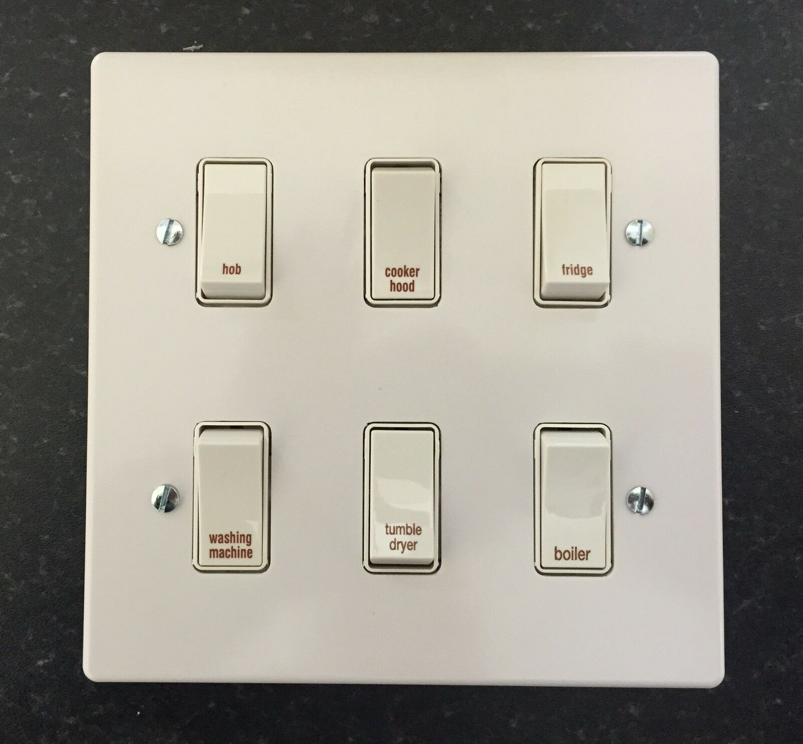 Crabtree Grid Switch Kitchen Multi Gang Switch Plates Ebay