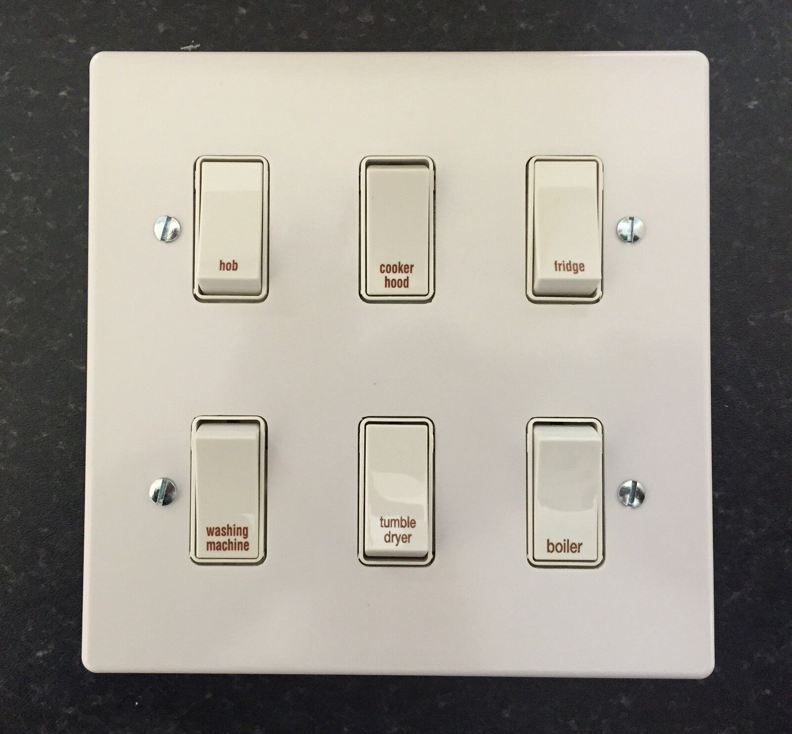 crabtree grid switch kitchen multi gang switch plates