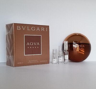 BVLGARI - Aqva Amara EDT - SAMPLE Atomizer AUTHENTIC