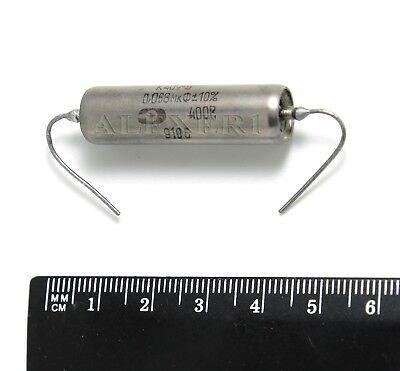 2 pcs 0.47uF 250V PIO Paper in Oil Audio Capacitors NOS K42Y-2 Matched pair