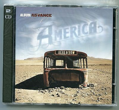 America Here   Now Album Advance Promo Music Cd Burgundyrecords Sony Newsealed