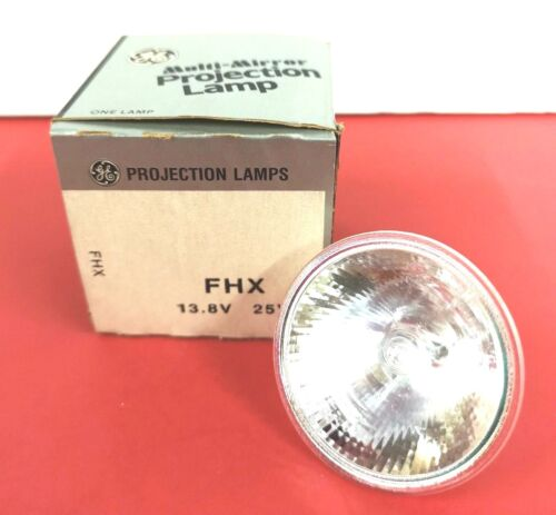 FHX 25W 13.8V Photo Projection LIGHT BULB Studio LAMP Projector NOS NEW