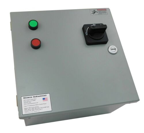 Elimia CMC 22-32-480N4 Type F Combination Motor Starter 480V 20HP @ 480V Nema 4