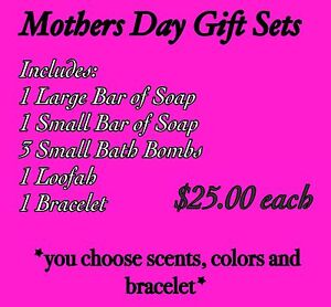 Mothers Day Gift Sets *Handmade