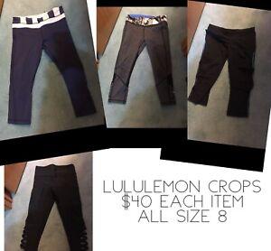 Lululemon crops