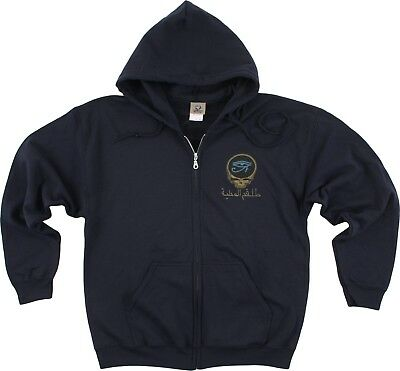 Grateful Dead Hoodie (GRATEFUL DEAD-EGYPTIAN CREW-SYF-2 Sided ZIPPERED HOODIE- L-XL Limited,)