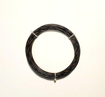 20 Awg 600v Mil-spec Wire Ptfe Blkbrn Stranded Silver Plated 25 Ft