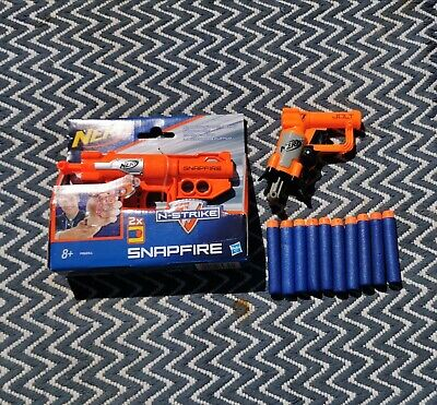 Nerf N-Strike Snapfire and Jolt with bullets