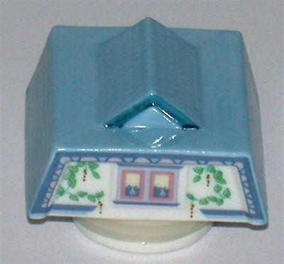 Lenox Porcelain Village Spice Jar ~ Replacement Pepper Top Only Lenox Village Spice Jar
