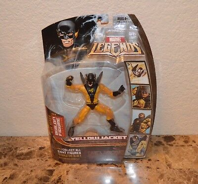 Marvel Legends Series 17 (Hasbro Series 2) Action Figure Yellow Jacket Gold